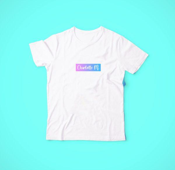 t-shirt charlotte M.